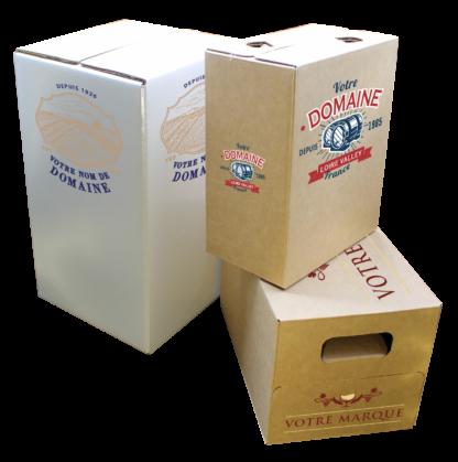 Bag in box personnalisé, et écoreponsable pour le vin et les spiritueux